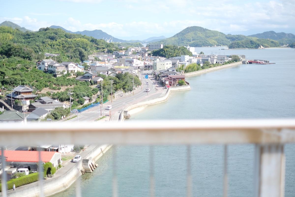 生口橋からの景色